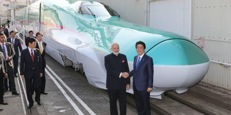 Inde: Modi et Abe vont donner le coup d'envoi d'un réseau ferré à grande vitesse