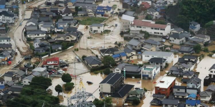 """Japon: """"course contre la montre"""" pour sauver les sinistrés, 48 morts déplorés"""