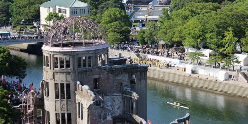 73 ans après, le Japon se souvient du bombardement atomique d'Hiroshima