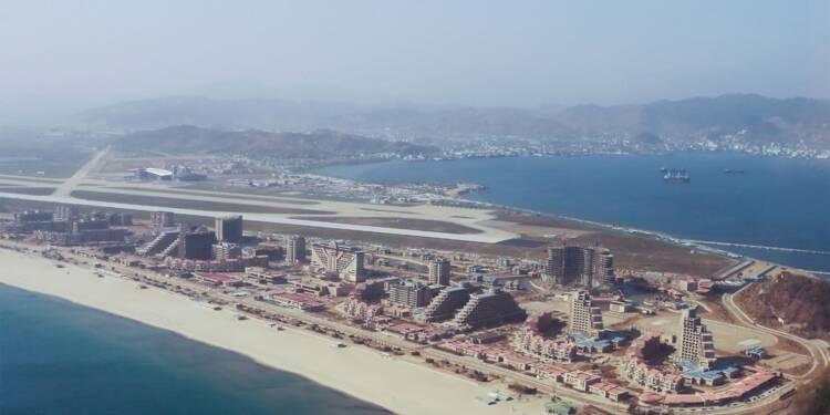 Corée du Nord: les sanctions retardent l'ouverture d'un complexe balnéaire