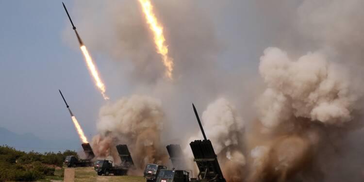 Les Etats-Unis optimistes malgré des tests de lance-roquettes par Pyongyang