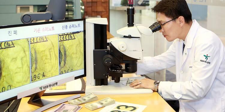 Pyongyang montré du doigt après la découverte d'un faux billet au Sud