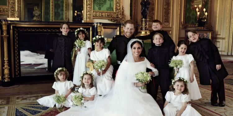 Mariage royal: les photos officielles publiées