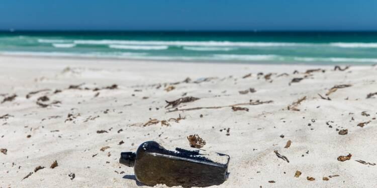 """Découverte de la plus ancienne """"bouteille à la mer"""" connue, jetée il y a 132 ans"""