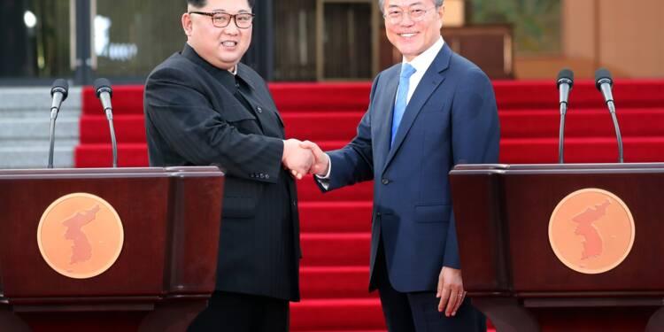 Les deux Corées s'engagent pour la dénucléarisation lors d'un sommet historique