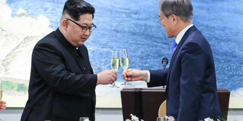 Les deux Corées s'engagent pour la paix lors d'un sommet historique