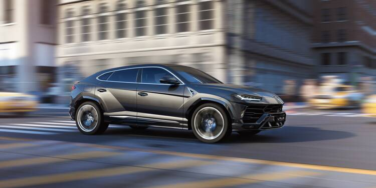 Lamborghini lance son SUV de luxe, un segment en plein boom