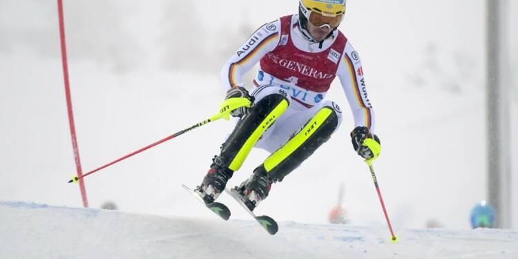 Ski-alpin: victoire de Neureuther au slalom de Levi