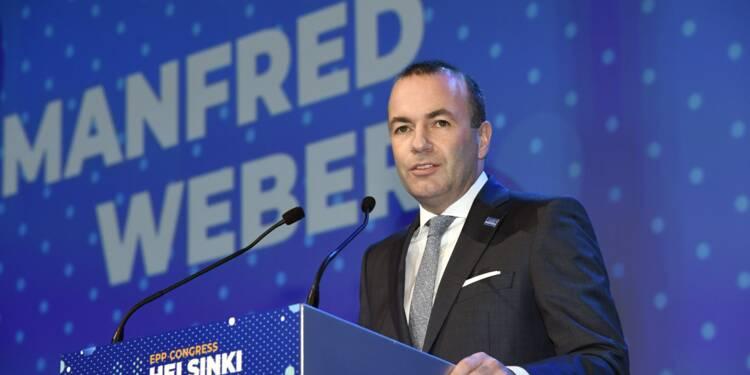 UE/élections: l'Allemand Weber investi chef de file de la droite européenne