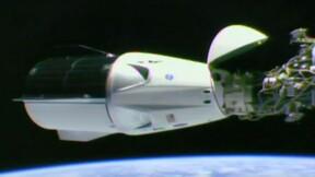 Début de mission réussi pour Dragon, arrivée à la Station spatiale internationale