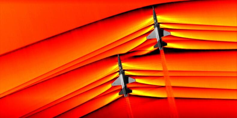 La NASA a pris des images inédites d'avions franchissant le mur du son