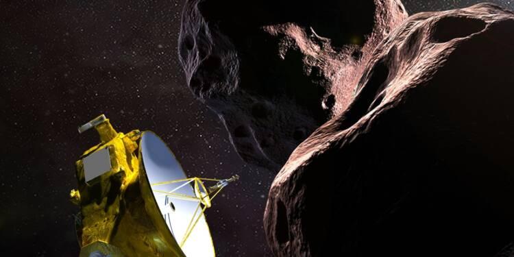 """""""Historique"""": une sonde de la Nasa a survolé un lointain objet céleste"""