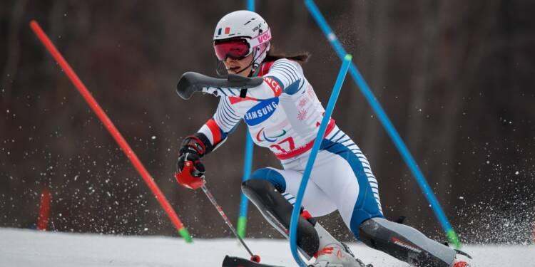 Paralympiques-2018: Marie Bochet clôt ses Jeux en beauté, la France fait bien mieux qu'à Sotchi