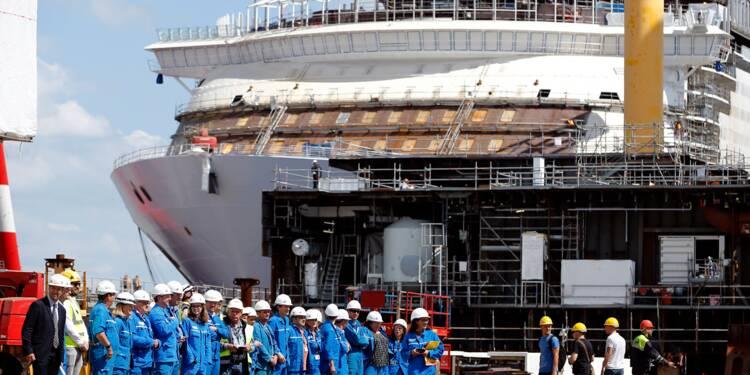Le paquebot géant MSC Meraviglia a quitté Saint-Nazaire