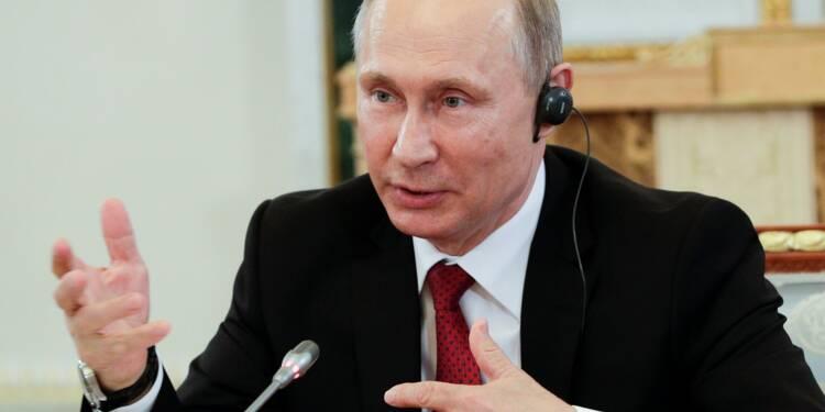 Poutine reçoit Modi au raout des milieux d'affaires russes
