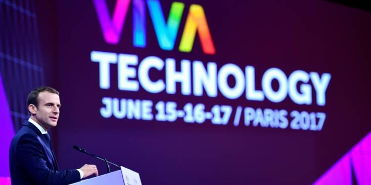Vivatech : Macron veut plus de start-up, promet un fonds de 10 milliards pour l'innovation