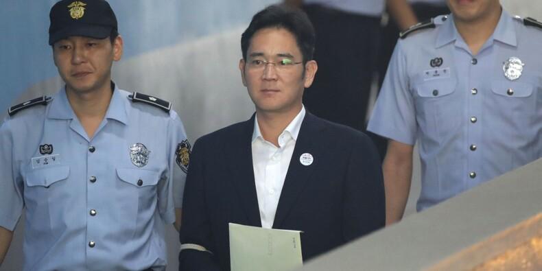 Corée du Sud: l'héritier Samsung condamné pour corruption