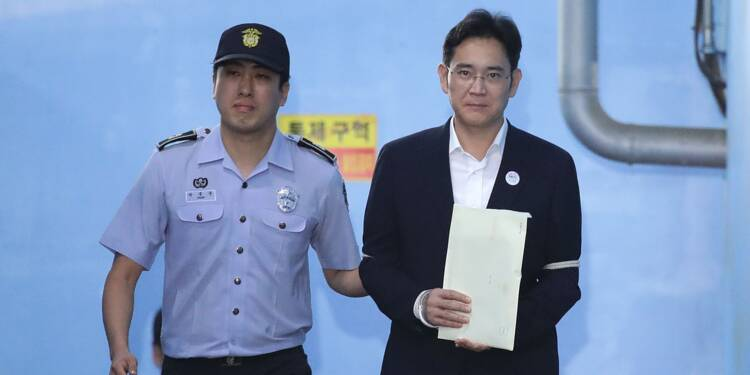 Le parquet sud-coréen demande une peine plus sévère contre l'héritier de Samsung