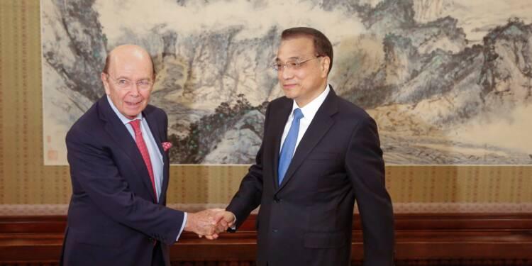 Le secrétaire américain au Commerce en Chine avant la visite de Trump