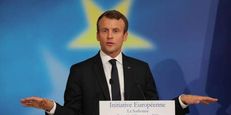UE: Macron propose d'ici 2024 que la France et l'Allemagne unifient leurs marchés