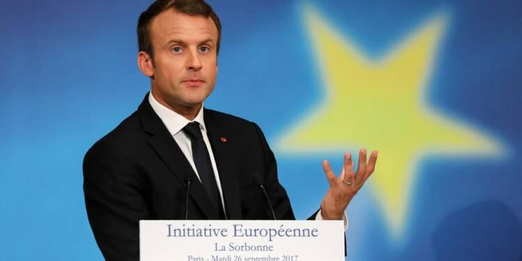 Ce qu'il faut retenir des propositions de Macron pour l'Europe