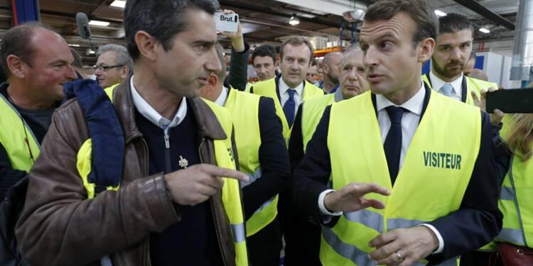 De retour chez Whirlpool, Macron se défend de favoriser les plus riches