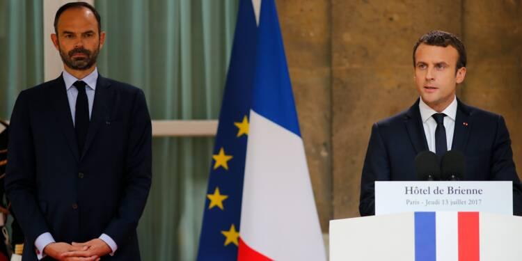 Sondage: sursaut de popularité pour Macron et Philippe