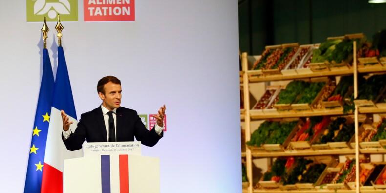 Macron veut améliorer les revenus des agriculteurs grâce à des ordonnances
