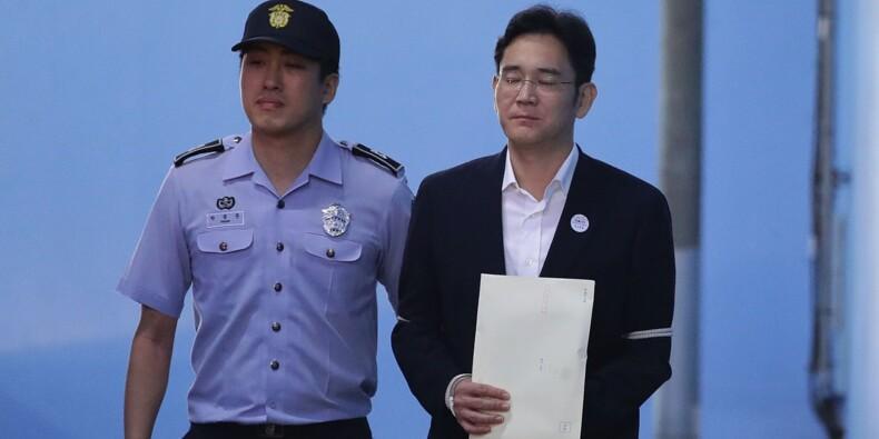 Le parquet de Séoul prône en appel la sévérité contre l'héritier de Samsung