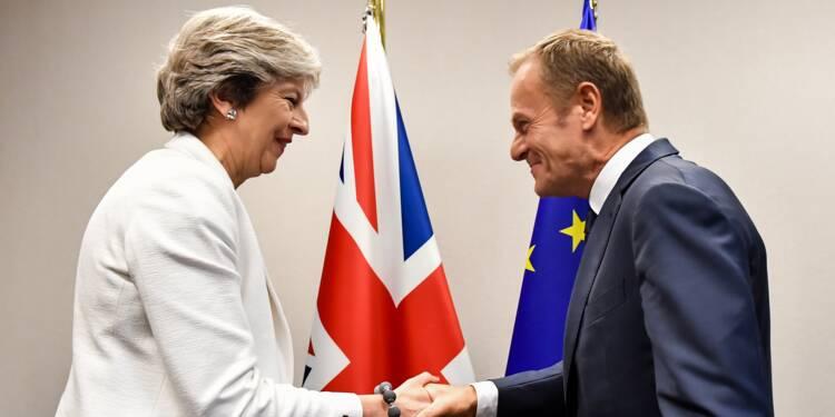 La croissance britannique manque d'élan en attendant le Brexit