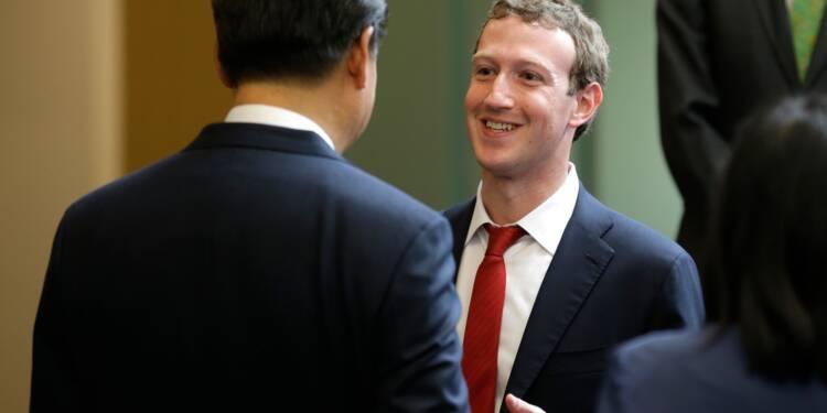 Chine: Xi Jinping vante ses réformes aux patrons d'Apple et Facebook