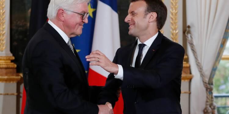 Macron et Steinmeier appellent à refonder sans tarder l'Europe
