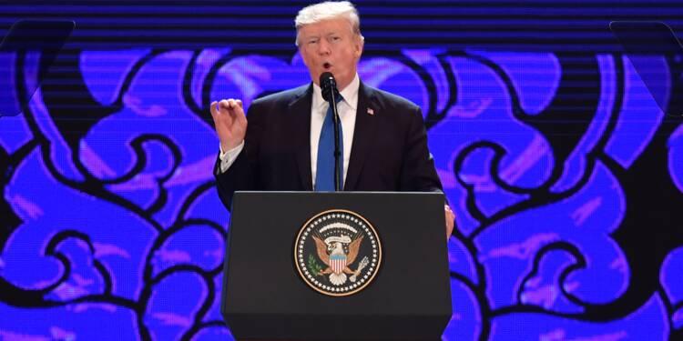 """Trump: l'Amérique """"ne tolérera pas"""" les échanges inéquitables"""