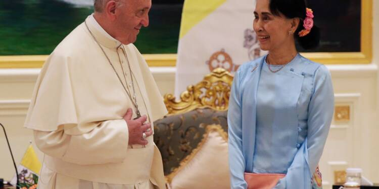 Dans son premier discours en Birmanie, le pape évite de prononcer le mot Rohingya