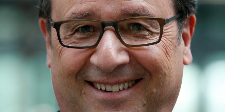 François Hollande remporte le Grand prix de l'humour politique 2017 pour l'ensemble de son oeuvre