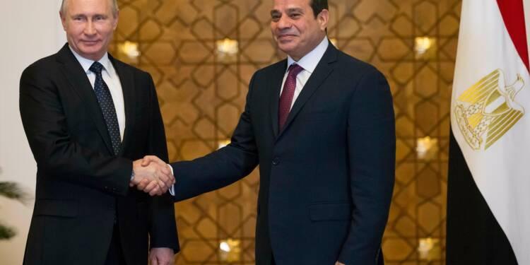 Le Caire et Moscou signent un contrat pour la première centrale nucléaire égyptienne