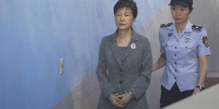 L'ex-présidente sud-coréenne accusée de détournement des fonds des renseignements