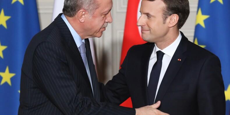 """Turquie-UE: Macron propose un """"partenariat"""" plutôt qu'une adhésion impossible"""