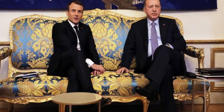 Macron accueille Erdogan pour une visite controversée