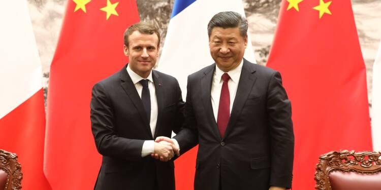 """Droits de l'homme: Macron ne veut pas """"donner des leçons"""" à la Chine"""