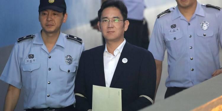 Corruption: l'héritier du sud-coréen Samsung obtient sa libération en appel