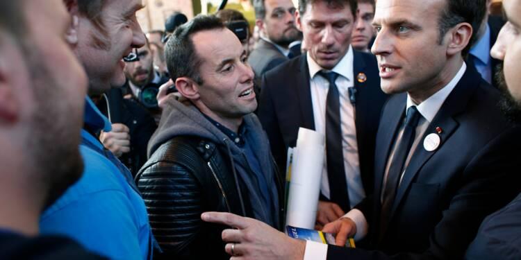 Macron répond pied à pied aux inquiétudes au salon de l'Agriculture