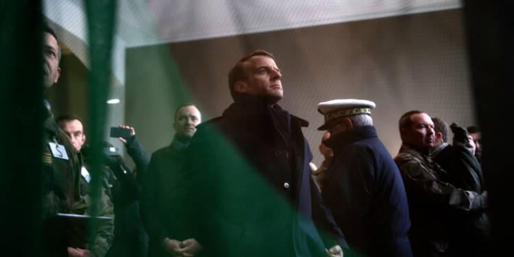 Macron à Fresnes avant une loi de programmation pour la justice au printemps