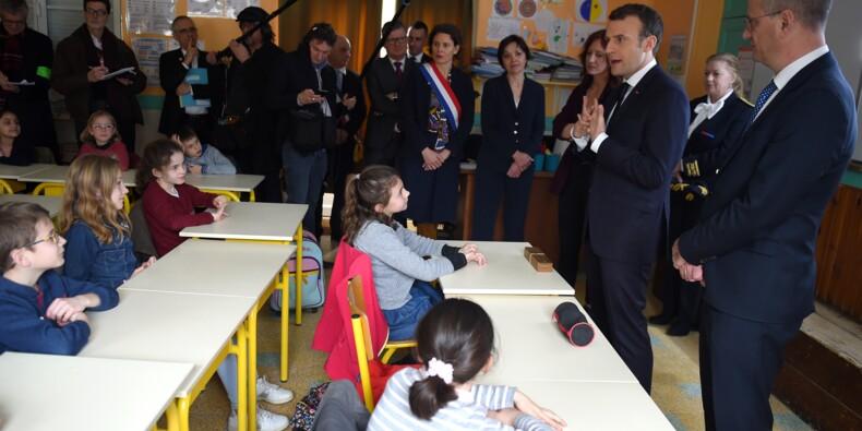 Des classes rurales à la CSG, Macron veut dissiper les inquiétudes