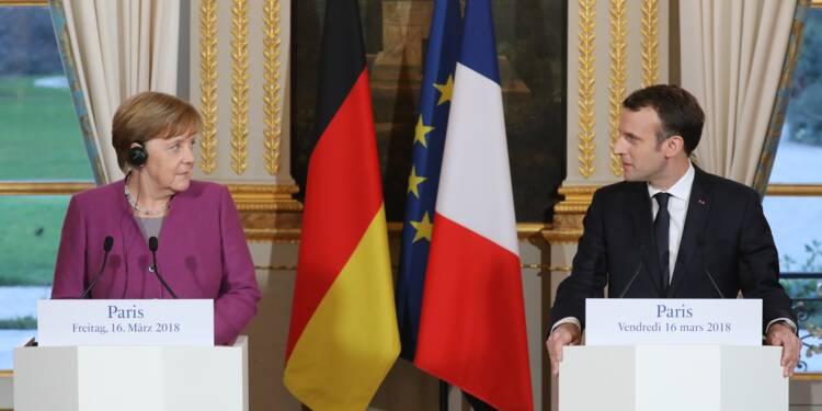 Macron et Merkel mettent le cap sur la réforme européenne