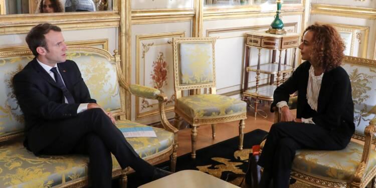 """Macron veut soutenir l'essor du français, """"langue-monde"""""""