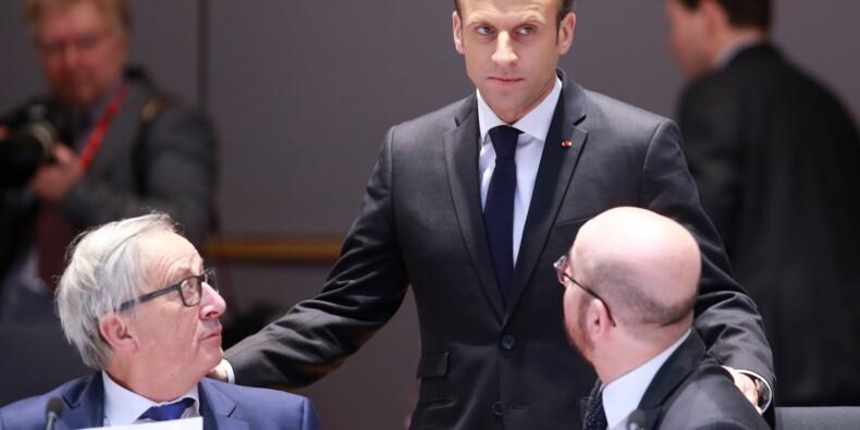 """Commerce: """"si nous sommes attaqués, nous réagirons sans faiblesse"""", assure Macron"""