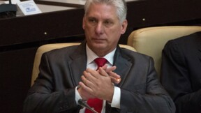 Cuba: Diaz-Canel promet de poursuivre l'oeuvre des Castro