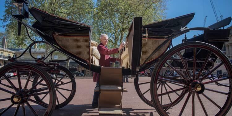 Harry et Meghan ont choisi leur calèche pour leur procession nuptiale