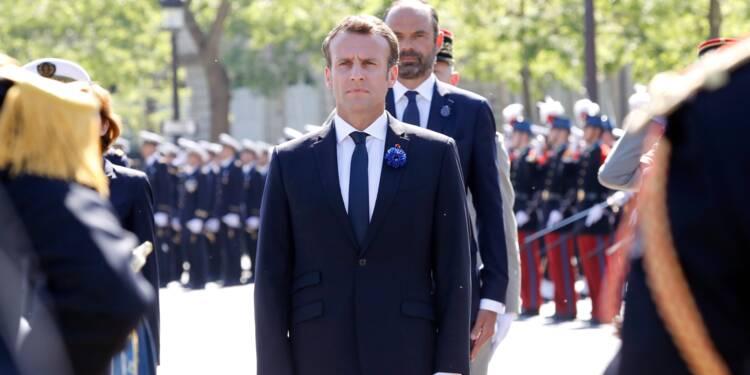 Un premier 8-Mai traditionnel pour Emmanuel Macron